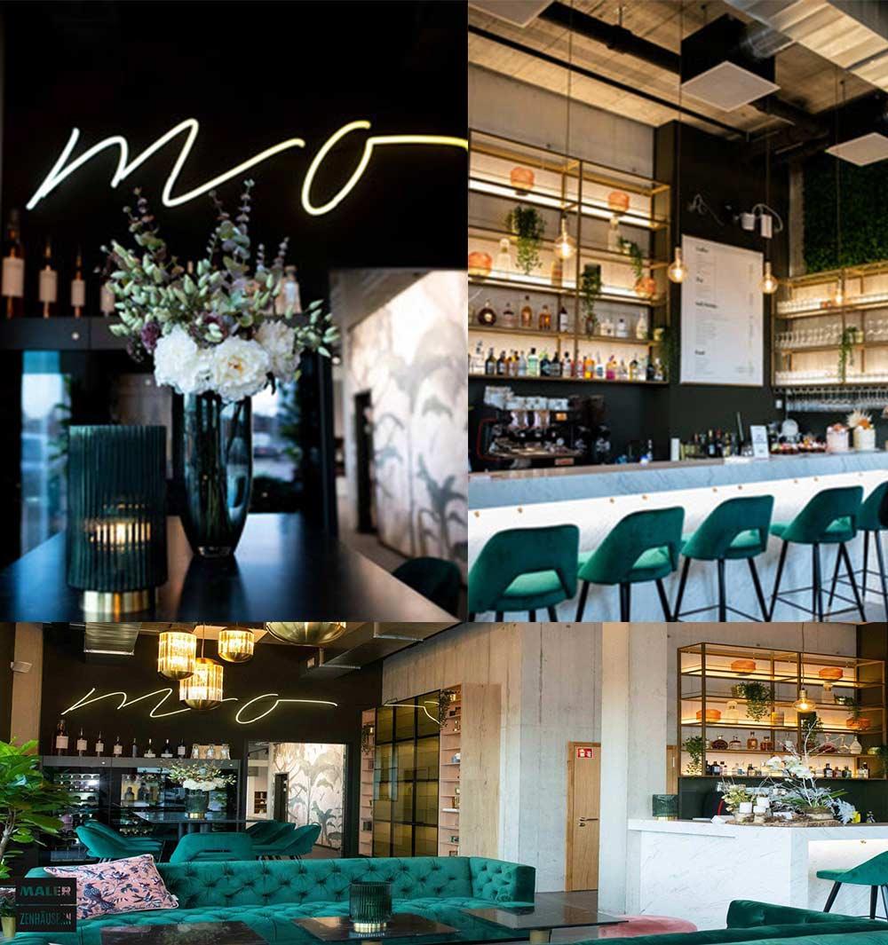 Collage der Mo-Coffee-Bar