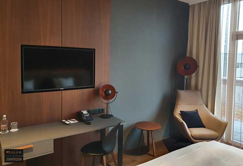 Schlafzimmer-wandgestaltung-hyperion-hotel-basel